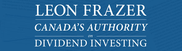 Leon Frazer - Canada's Authority on Dividend Investing
